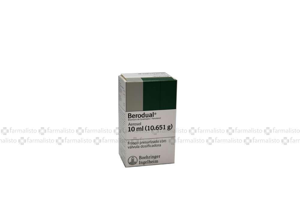 Berodual Caja Con Frasco Aerosol Con 10 mL