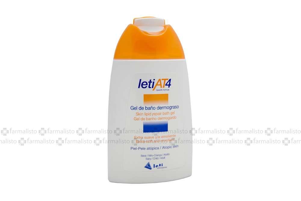 LetiaT4 Gel De Baño Dermograso Frasco Con 200 mL