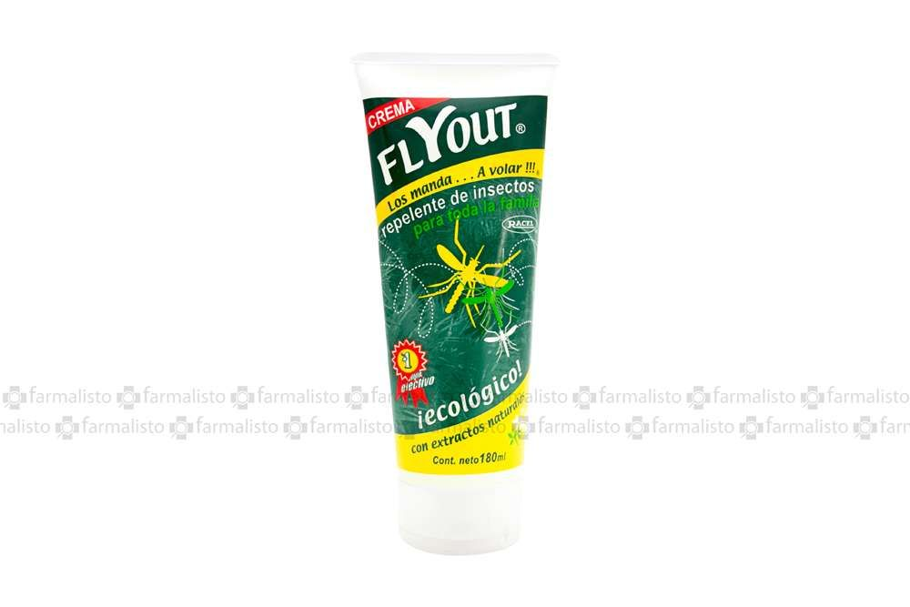 Flyout Crema Repelente De Insectos Tubo Con 180mL