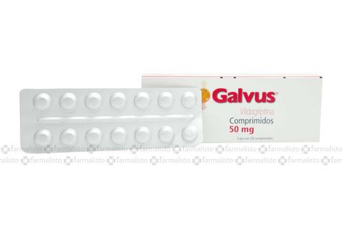 Galvus 50 mg Caja Con 28 Comprimidos – Diabetes