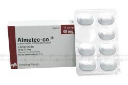 Almetec Co 40 mg/12.5 mg Caja Con 14 Comprimidos