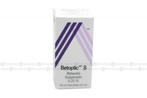 Betoptic S Suspensión 0.25% Caja Con Frasco Gotero Con 5mL