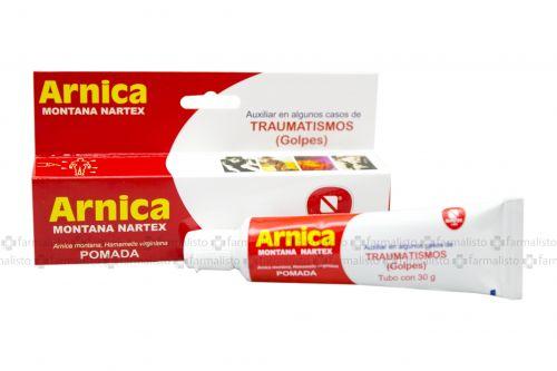 Arnica Montana Nartex Pomada Caja Con Tubo Con 30 g - Golpes