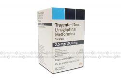 Trayenta Duo 2.5 mg / 1000 mg Caja Con 60 Tabletas
