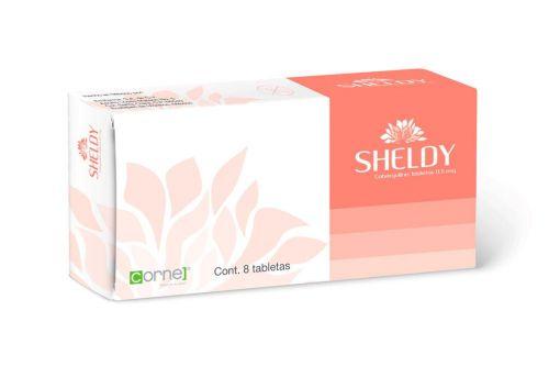 Sheldy 0.5 mg Caja Con 8 Tabletas