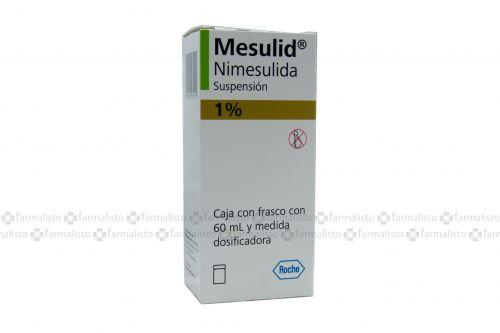 Mesulid 1 g Suspensión Con 60 mL