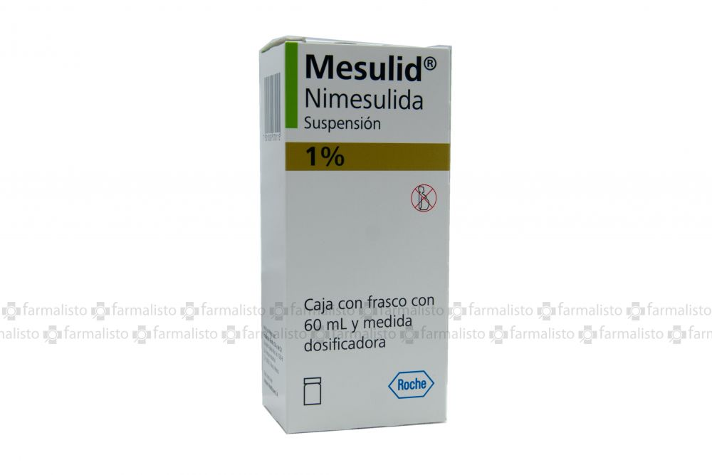 Mesulid 1 g Suspensión Con 60 mL
