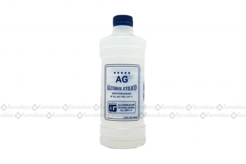 ALCOHOL ETILICO AG 500 ML