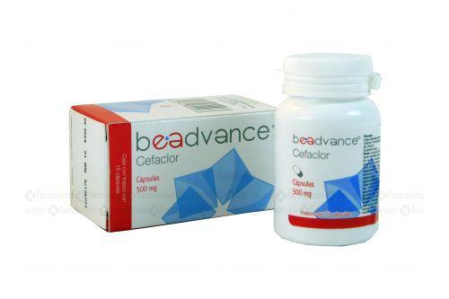 Cefaclor 500 mg Caja Con Frasco Con 15 Cápsulas - RX2
