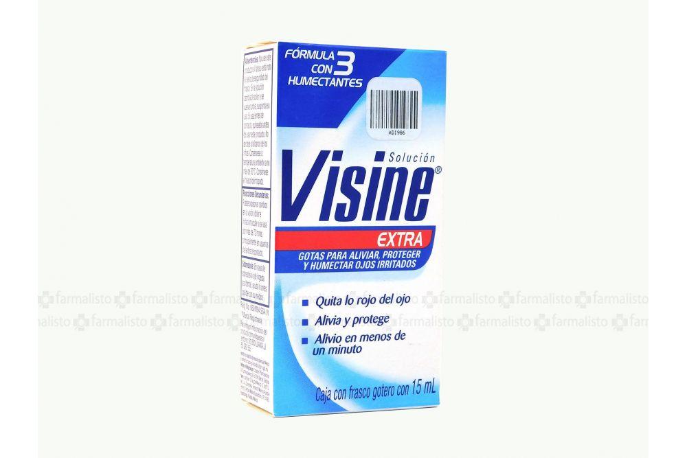 Visine Extra Frasco Con Gotero Solución con 15 mL
