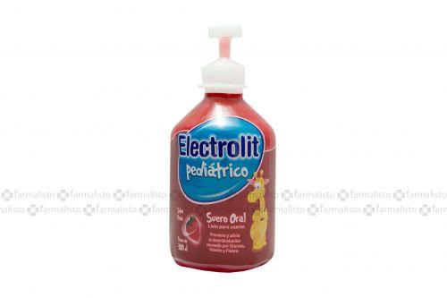 Electrolit Pediátrico Suero Oral Botella Con 300mL Sabor Fresa - Deshidratación