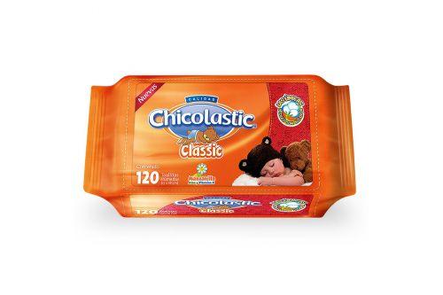 Chicolastic Classic Bolsa Con 120 Toallitas Húmedas