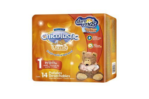 Chicolastic Classic Bolsa Con 14 Pañales Talla 1