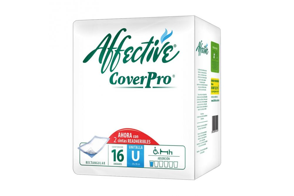 Affective Coverpro Unitalla Paquete Con 16 Unidades