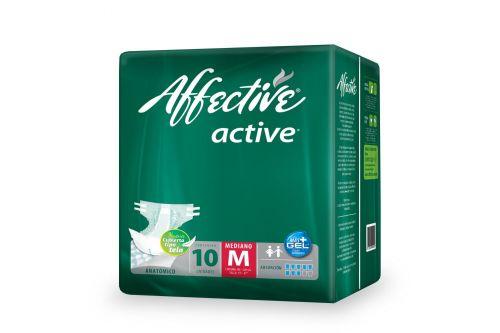 Pañal Affective Active Talla M Empaque Con 10 Piezas