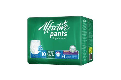 Pañal Affective Safe Pants Talla G Con 12 piezas