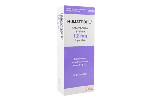 Humatrope 12 mg Solución Inyectcable RX3