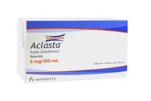 Aclasta 5 mg Frasco Con 100 mL Solución Para Perfusión