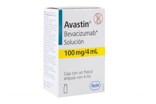 Avastin Caja Con Un Frasco Ámpula Con 100 mg/4 mL Rx3
