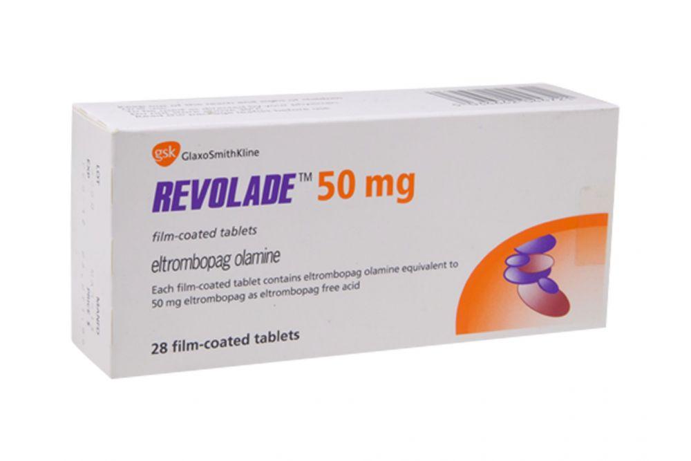 revolade 50 mg precio caja con 28 tabletas en méxico y df