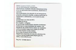 Tempra 1 g /10 mg Solución Inyectable Caja Con 4 Frascos de 100 mL