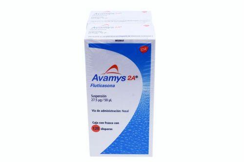 Avamys 2A Suspensión 27.5 mcg/50 mcL 120 Disparos 2x1
