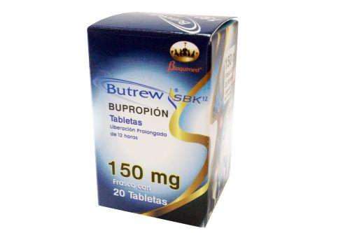 Butrew SBK 150 mg Caja Con 20 Tabletas