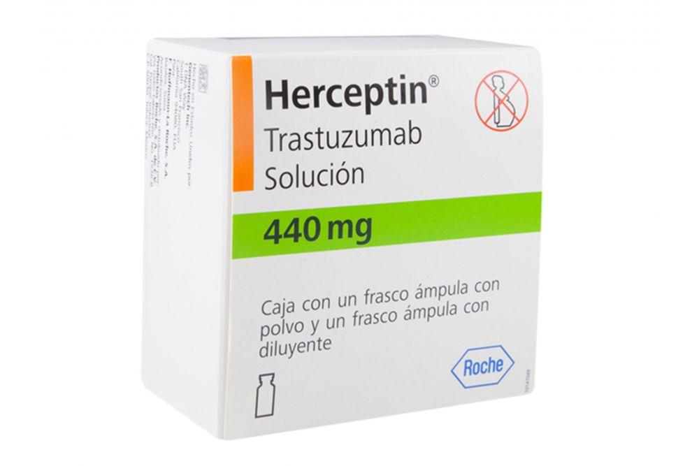 Herceptin Solución 440 mg Caja Con 1 Frasco Ámpula - RX3