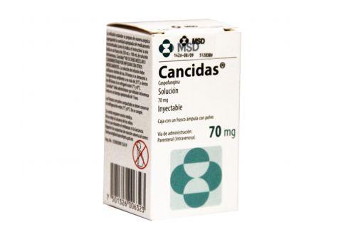 Cancidas 70 mg Frasco Ámpula Con Polvo - RX3
