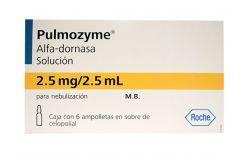 Pulmozyme 2.5 mg Caja Con 6 Ampolletas - RX3