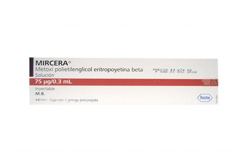 Mircera 75mcg/0.3mL Con 1 Jeringa Precargada - RX3