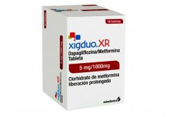Xigduo Xr 5 mg/ 1000 mg Caja Con 56 Tabletas