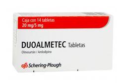 Duoalmetec 20mg/5mg Caja Con 14 Tabletas