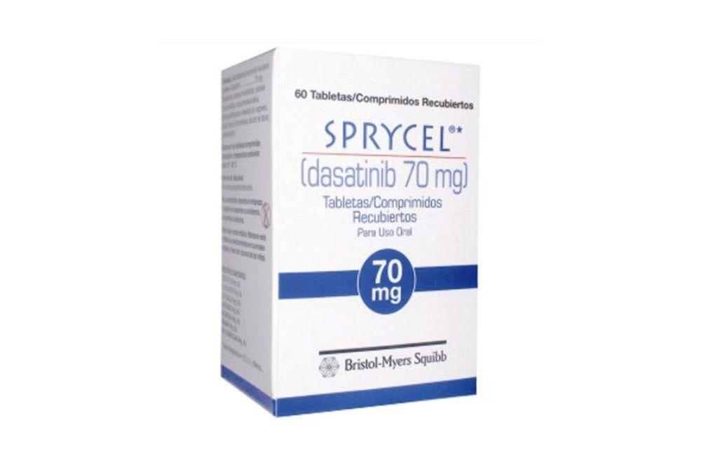 Sprycel 70 mg Frasco Con 60 Tabletas