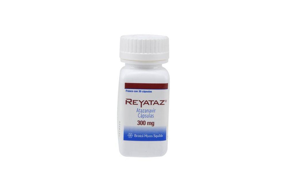 Reyataz 300 mg Con 30 Cápsulas