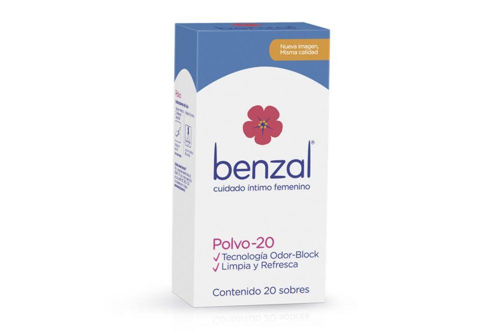 Benzal Polvo Caja Con 20 Sobres De 5 g