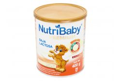NutriBaby Premium Baja En Lactosa Polvo Lata Con 400 g