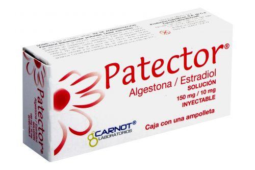 Patector Solución 150mg/10mg Inyectable Caja Con 1 Ampolleta