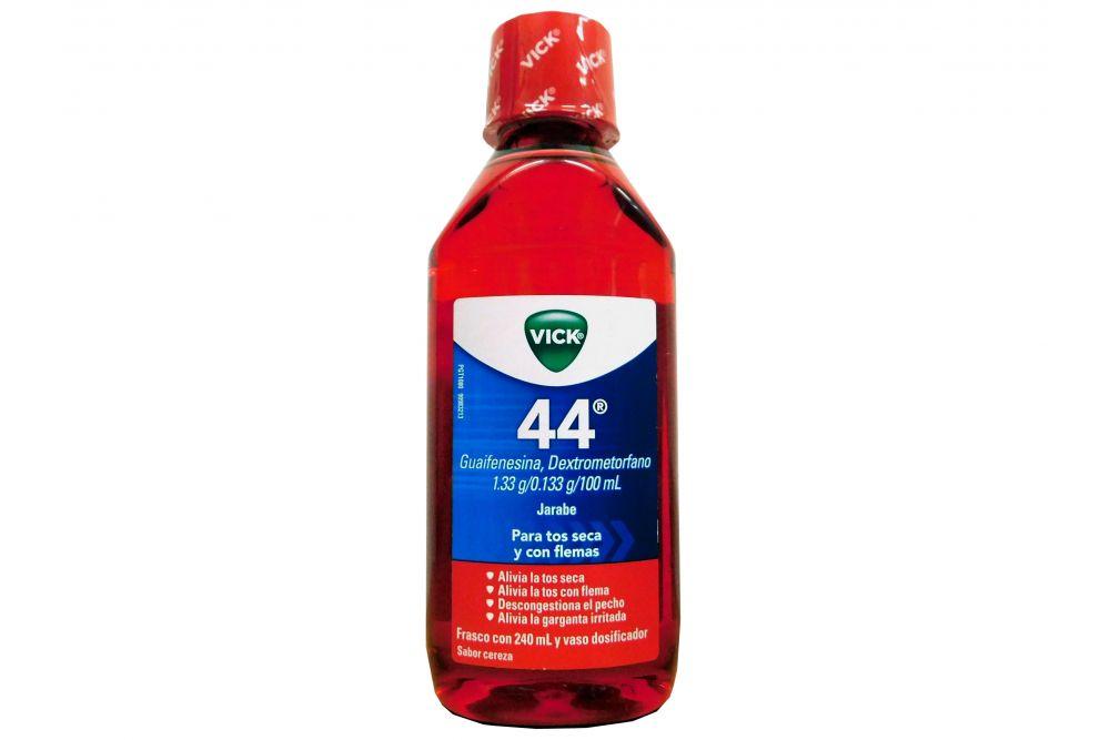 Vick 44 Jarabe para todo tipo de tos Expectorante 240 ml