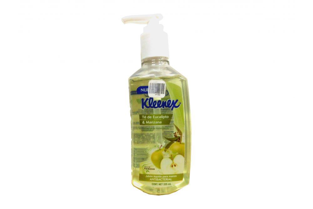 Jabón Líquido Kleenex Te De Eucalipto Y Manzana 255 mL