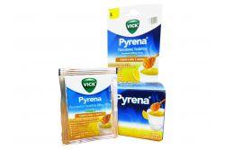 Vick Pyrena 5 g Sabor a Miel y Limón Con 12 Sobres