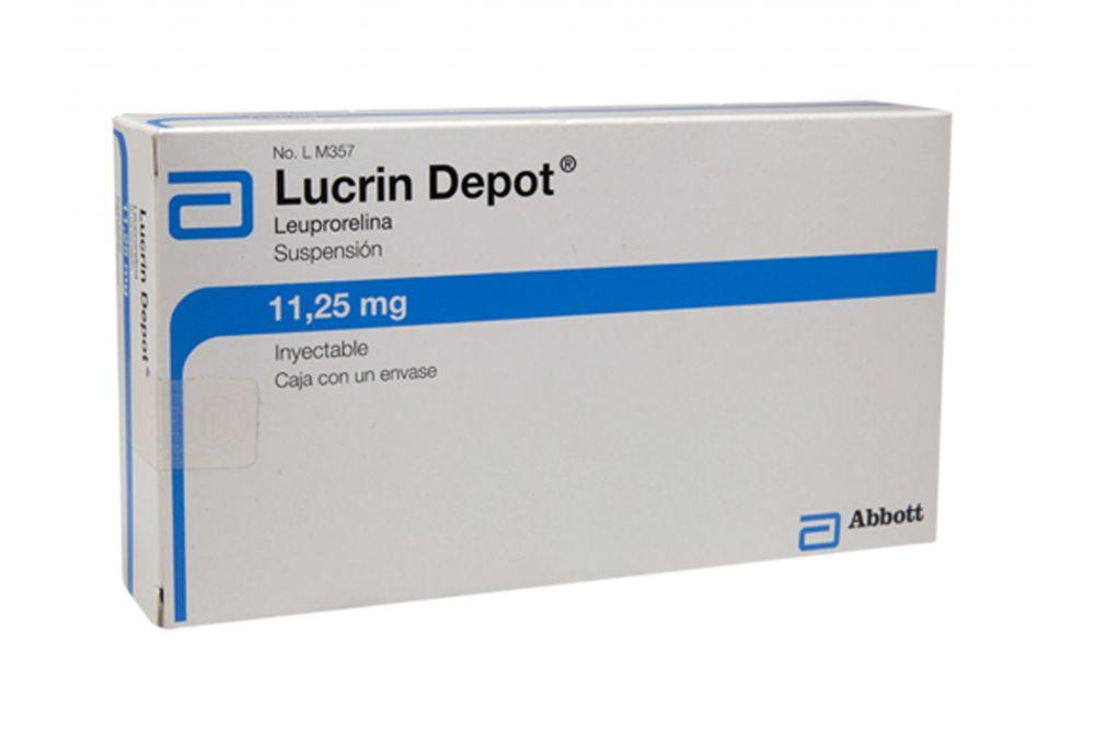FRM-Lucrin Depot Suspensión 11,25 mg Inyectable Caja Con un Envase