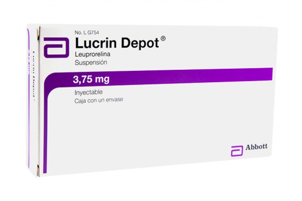 Lucrin-Depot Abbot 3.75 mg Solución inyectable Caja Con 1 Frasco Ámpula