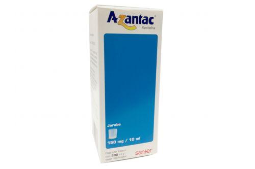 Azantac Jarabe 150 mg/10 mL Caja Con Frasco Con 200 mL