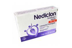 NEDICLON 100MG C/20 GRAG