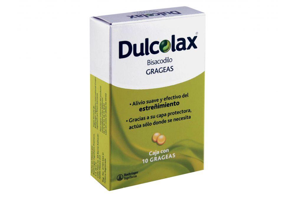 Dulcolax 5 mg Caja Con 10 Grageas