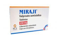 Miraji 250 mg Caja Con 30 Tabletas