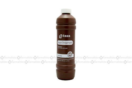 Agua Oxigenada Botella Con 220 mL - Antiséptico
