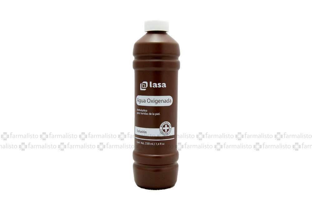 Agua Oxigenada Botella Con 220 mL