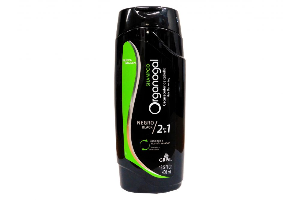 Organogal Shampoo 2 En 1 Botella Con 400mL